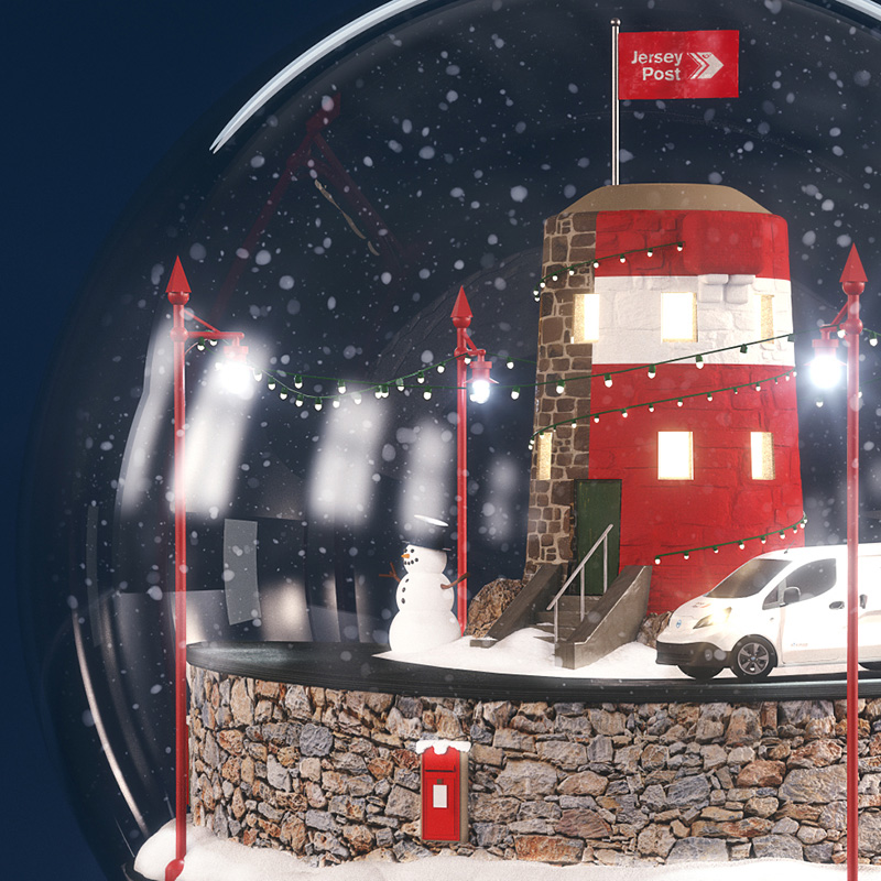 Jersey Post 2018 Christmas Campaign